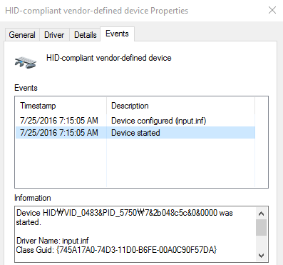 I2c Hid Device