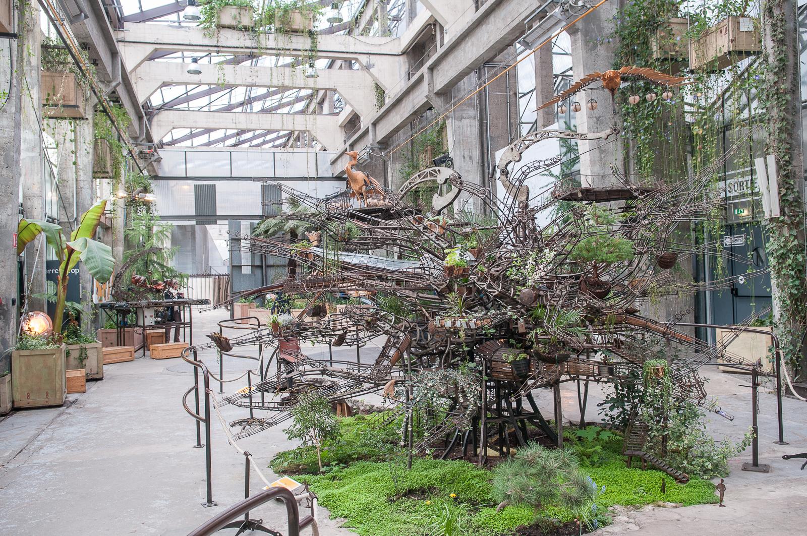 Paradis express le jardin extraordinaire de la carri re for Jardin extraordinaire
