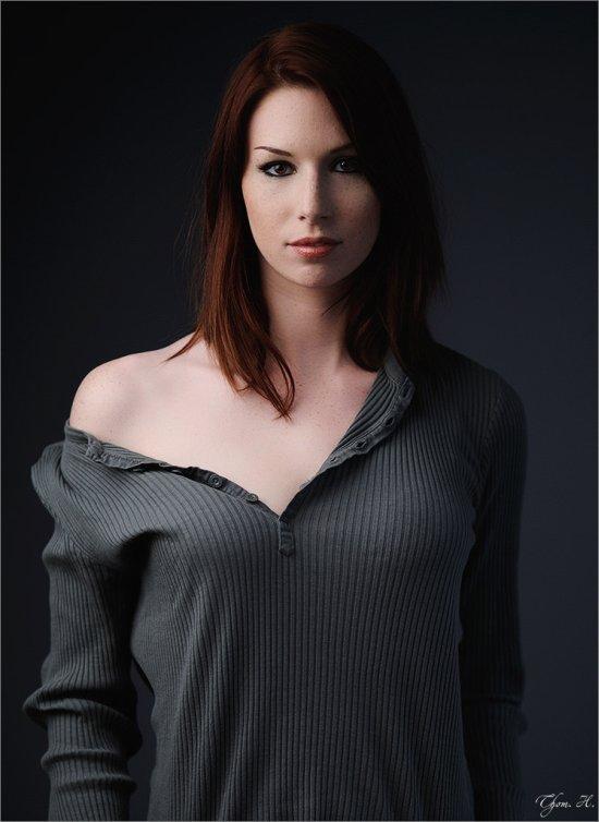 Thom. H. 500px arte fotografia mulheres modelos fashion ruivas cabelos