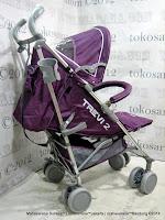 Kereta Bayi LightWeigt BabyElle S501 Trevi 2 - Purple