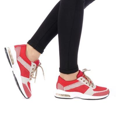 Pantofi sport dama Opala rosii ieftini