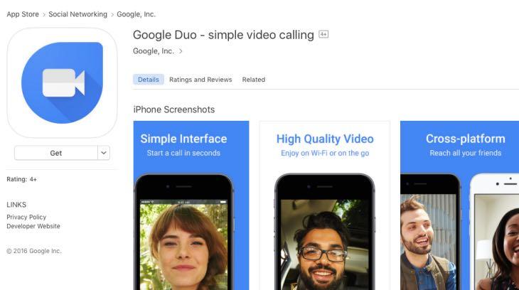 duo video calling download