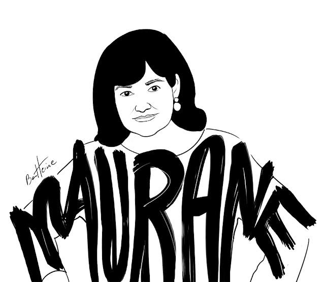 Maurane - Portrait Dessin de Ben Heine - Brussels - Belgium - Schaerbeek