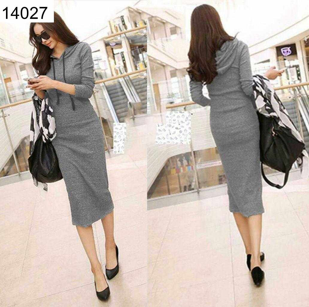 Jual Dress Greiny Hoodie Dress - 14027