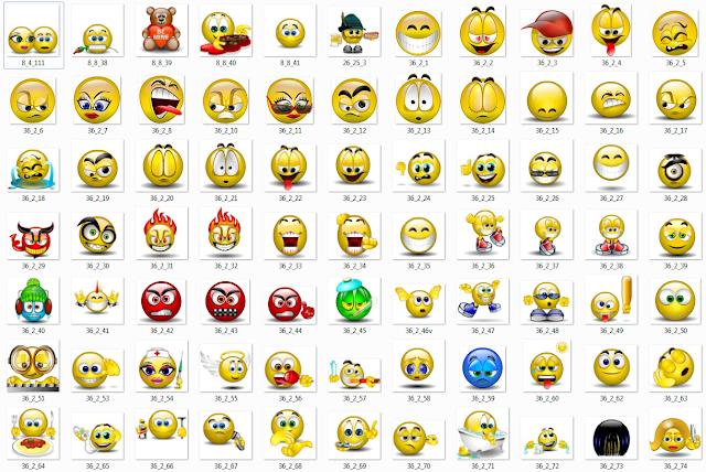 Facebook Emoticons Smileys Free Download