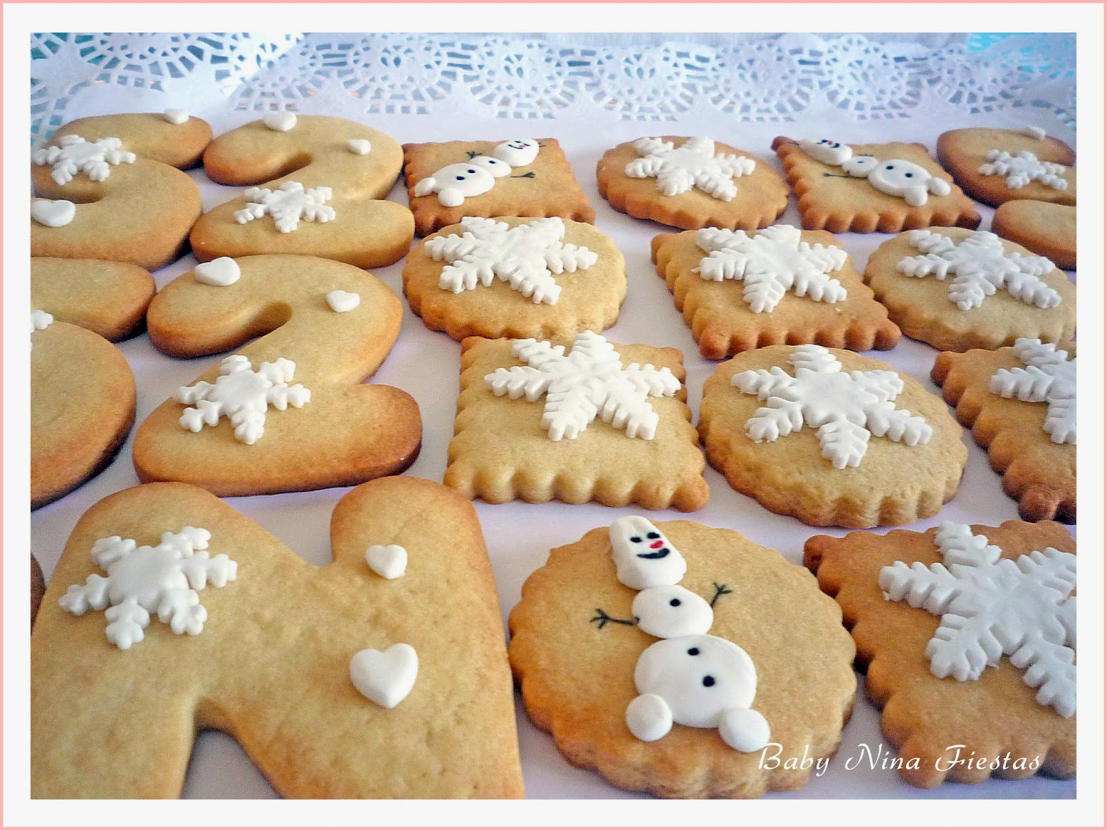 Galletitas decoradas Frozen