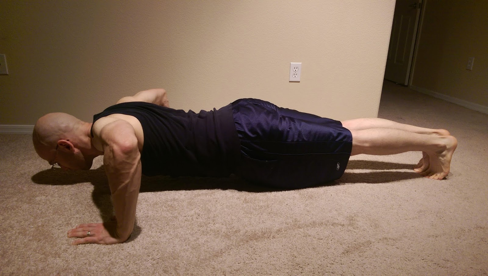 Friday Fit Tip: Push Ups - Push Up Variation - Wide Hand