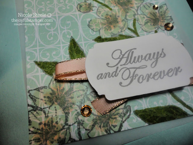 Stampin' Up! Forever Blossoms Always and Forever card