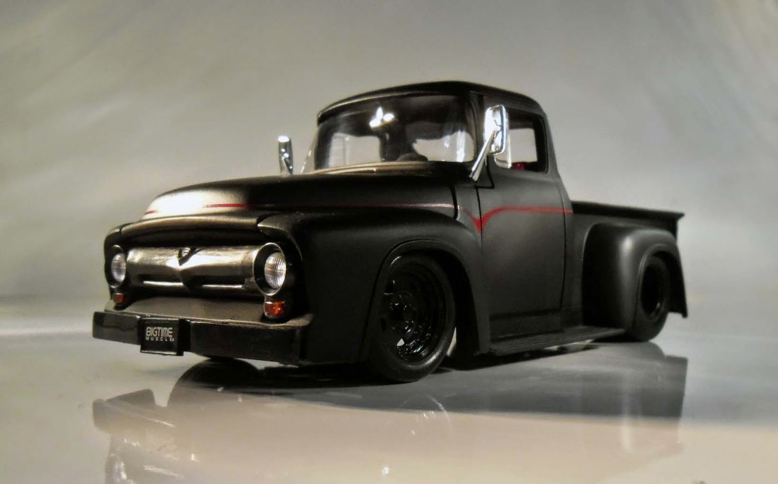 Auto Galeria 1 18 Eddie Ford F 100 1956 Quot Bigtime Muscle Quot