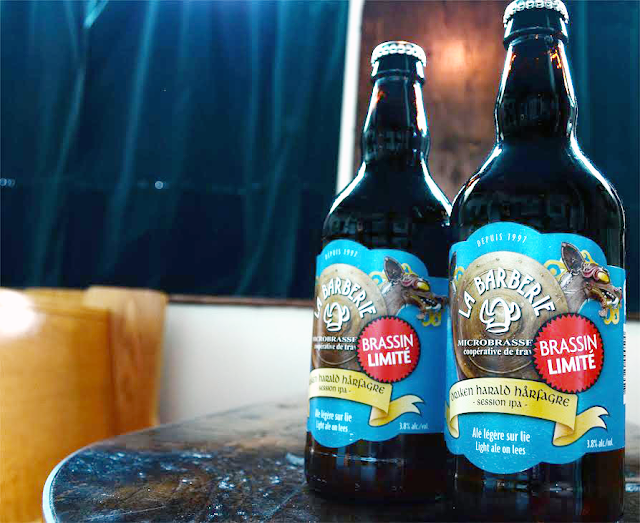 Draken Harald Hårfagre bière IPA Barberie Québec