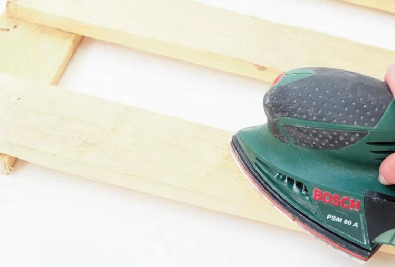 Come realizzare una panca da giardino con pallet