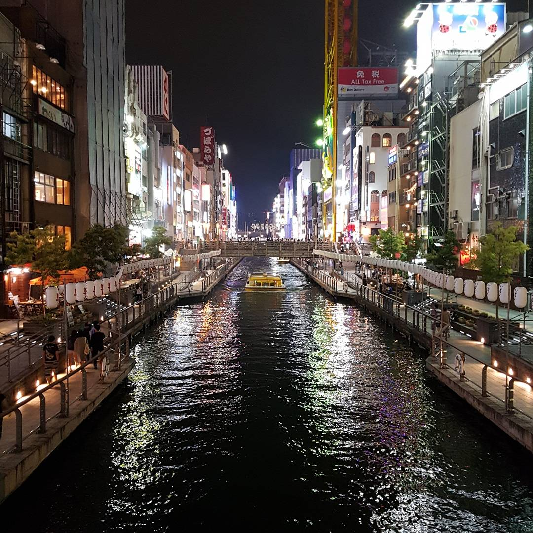 Dotombori Dotonbori Canal at Night