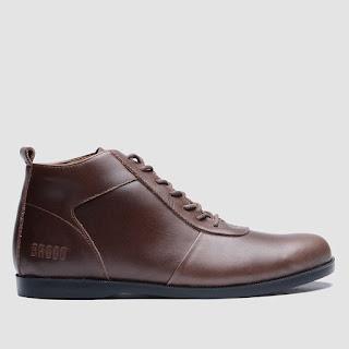 Sepatu Boots Pria BRODO Ventura Brown Black Sole  72bd847ead