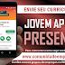 SELEÇÃO PRESENCIAL JOVEM APRENDIZ NESSA SEGUNDA-FEIRA ÁS 14:00hs