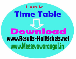 Acharya Nagarjuna University LLB Exam Time Table