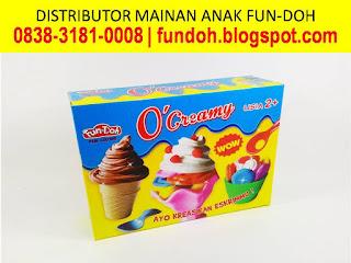 Fun-Doh O' Creamy, fun doh indonesia, fun doh surabaya, distributor fun doh surabaya, grosir fun doh surabaya, jual fun doh lengkap, mainan anak edukatif, mainan lilin fun doh, mainan anak perempuan