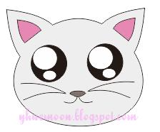 35 Gambar Kepala Kucing Animasi