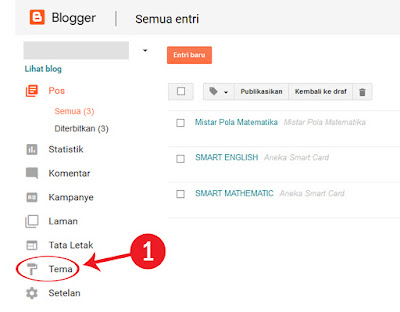 Cara Merubah Informasi Order pada Toko Online Blogspot