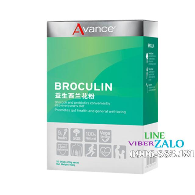 Avance Broculin lợi ích từ bông cải xanh