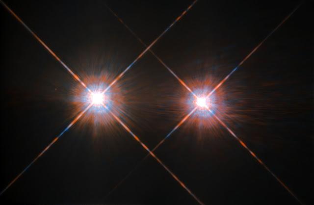 Alpha Centauri A & Alpha Centauri B