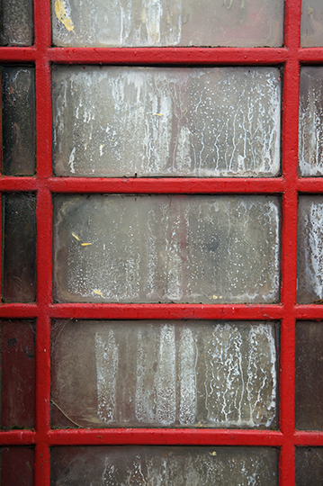 urban photography, abstract, art, contemporary, red phone box, travel, UK, Sam Freek, urban decay,