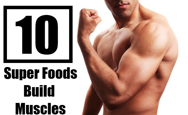 Foods Muscle Building