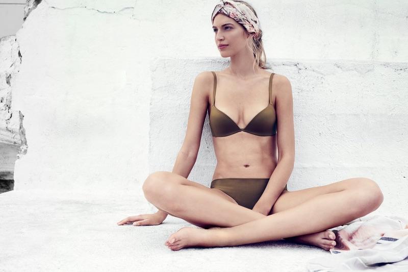 Vanessa Axente stars in Zimmermann's Swim 2017 campaign