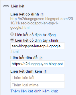 hướng dẫn tạo blogspot để seo