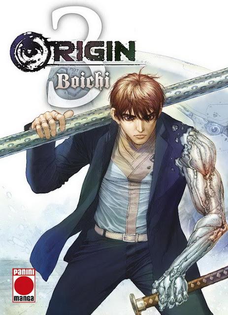 """Reseña de """"Origin"""" vol.3 de Boichi - Panini Comics"""