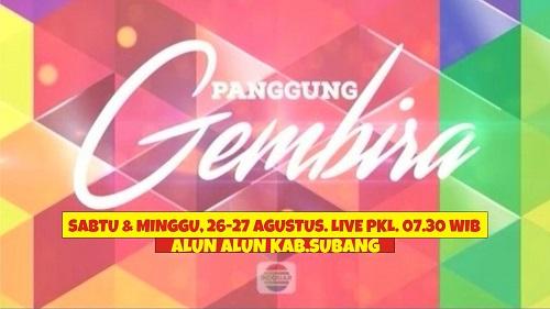 LIVE! Pangung Gembira Indosiar di Alun-alun Subang