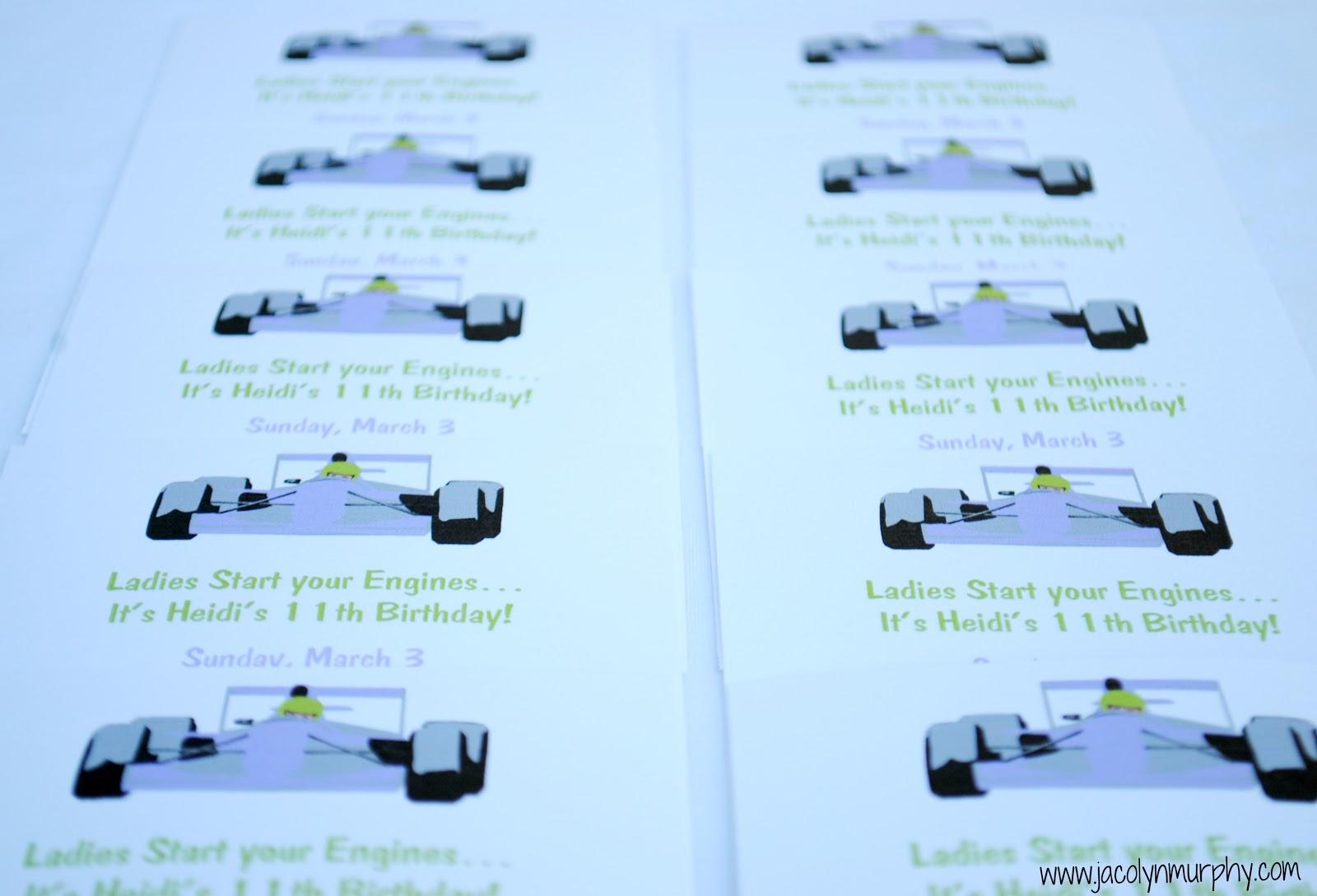 lyn kart Jac o' lyn Murphy: Ladies, Start your EnginesGirls' Go Kart Party lyn kart