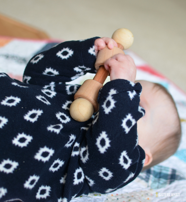 how to make a baby wood toy