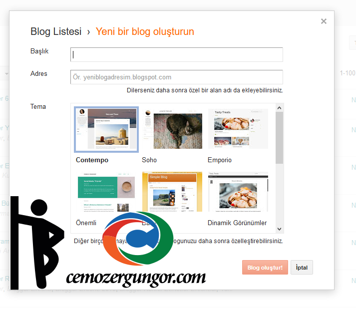 blogger blog ac