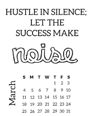 free 2018 inspirational calendar
