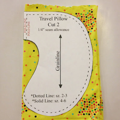 Baby Travel Neck Pillow Pattern Sewing Patterns For Baby