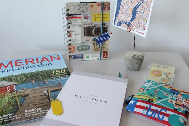 Herbstliebe-Liste Reiseplaene moses Verlag New York guide cereal  Jules kleines Freudenhaus