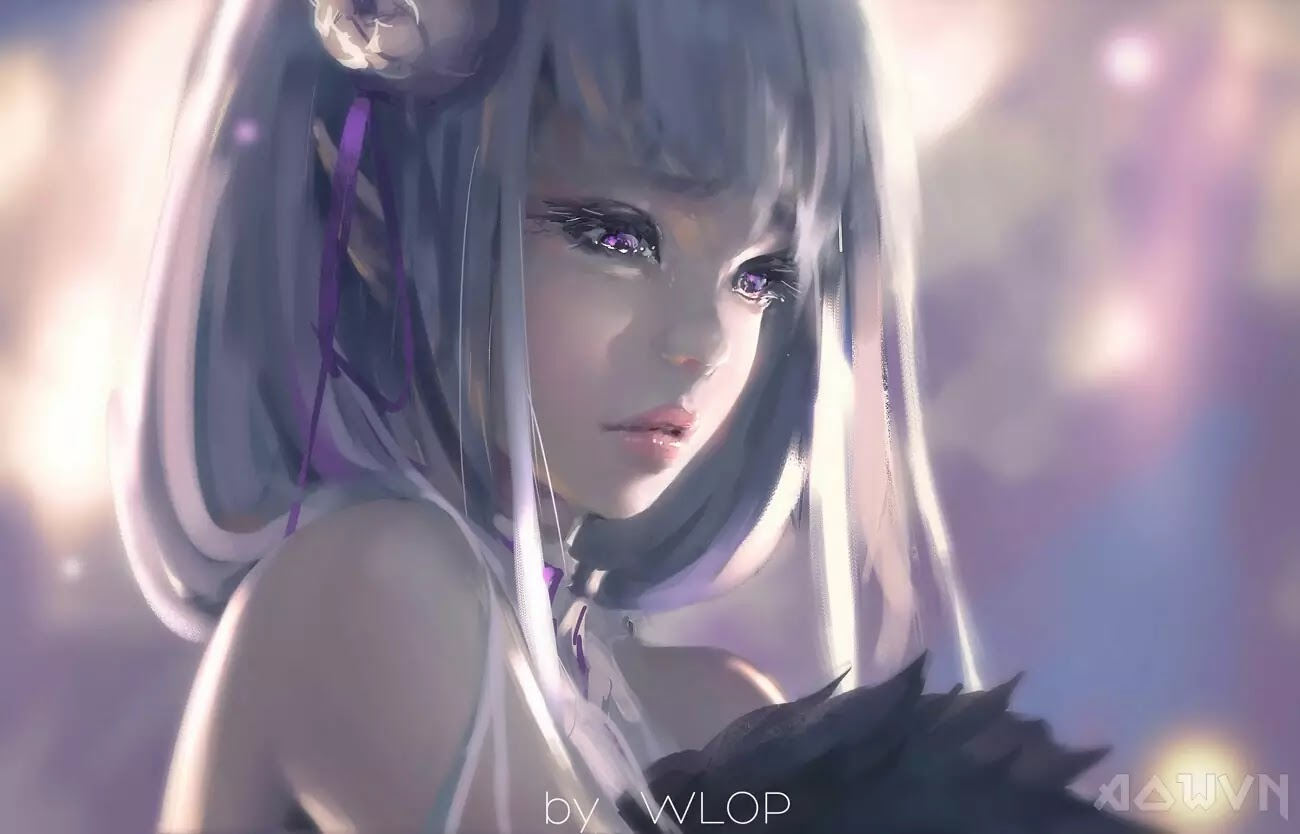 48 AowVN.org m - [ Hình Nền ] Anime Cực Đẹp by Wlop | Wallpaper Premium / Update