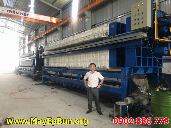 Siêu máy ép bùn khung bản Việt Nam do Vĩnh Phát sản xuất được mà chưa cty nào có thể chế tạo