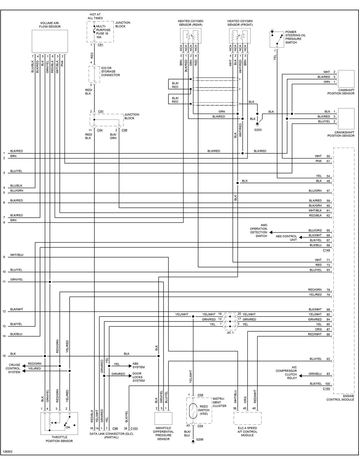 2002 Mitsubishi Montero Wiring Diagram Will Be A Eclipse Wire For 1998 Stereo Gt