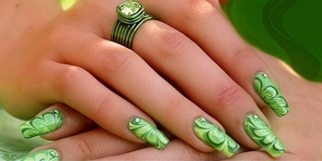 Pakistan Independence Day Nail Art 4 Designs: Attractive Nail Art Designs For Pakistan Independence Day