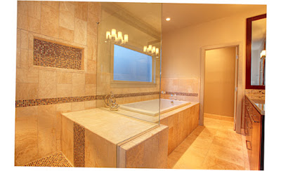 Image of Beautiful Master Bathrooms Photos With Glass Room