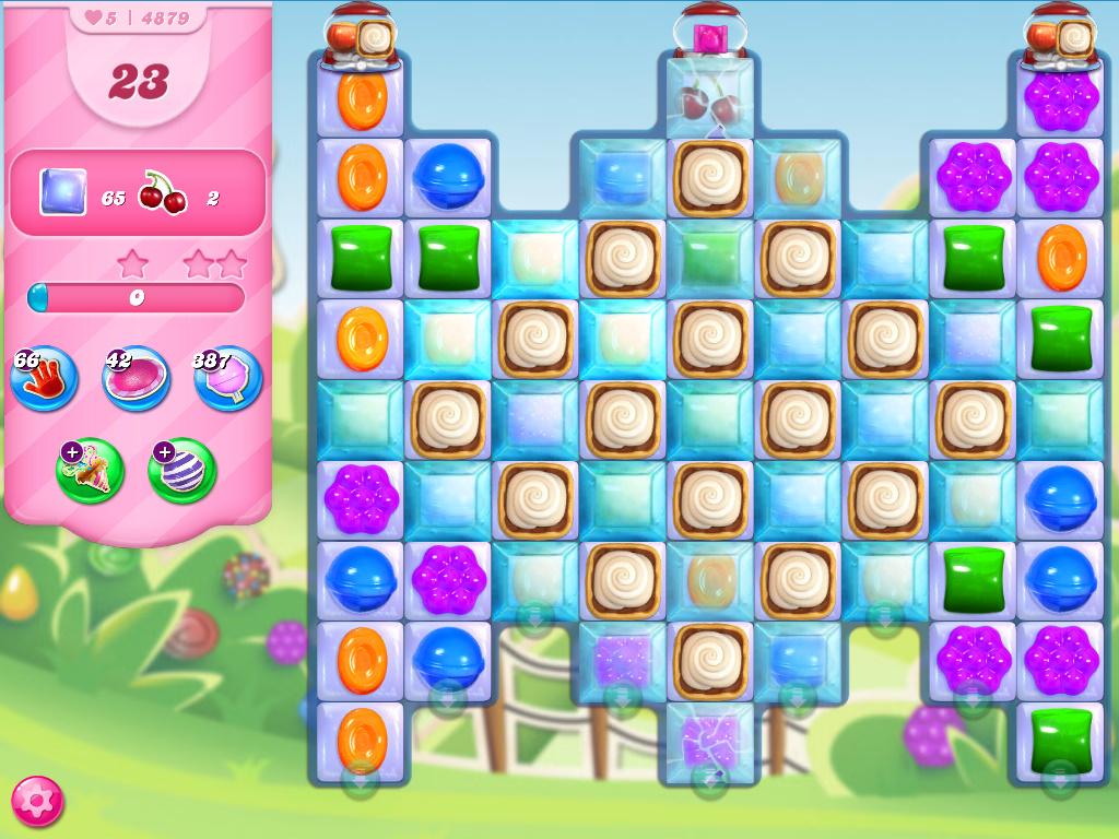 Candy Crush Saga level 4879