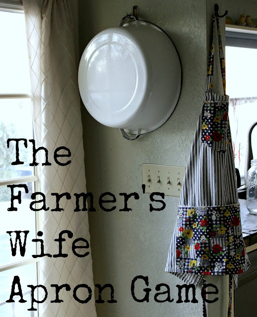Farmer's Wife Apron Game