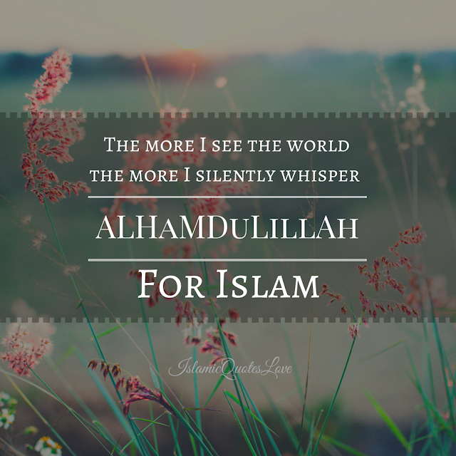 Indeed! Alhamdulillah Islam is the biggest blessing!