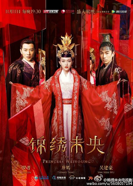 Princess Weiyoung Tang Yan