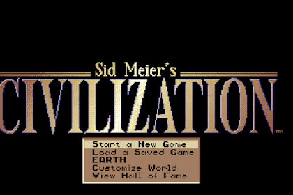 Download Game Sid Meier Civilization I for Computer or Laptop