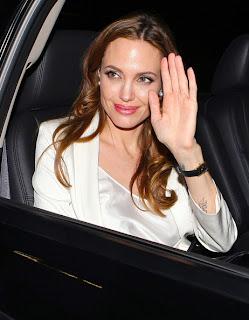Angelina Jolie Palm Image Palmistry