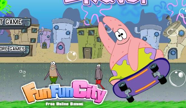 SpongeBob Skater game