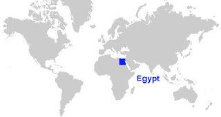 image: Egypt Map Location
