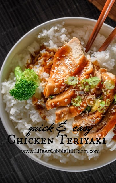 quick and easy weeknight chicken teriyaki one dish meal